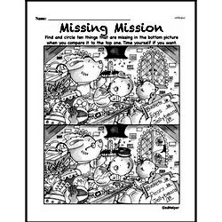 Third Grade Math Challenges Worksheets - Puzzles and Brain Teasers Worksheet #139