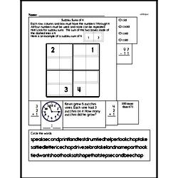 Easier Sum Practice with Sudoku Logic Puzzle Book