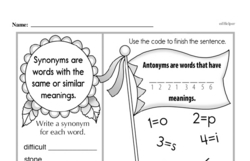 Free Third Grade Math Challenges PDF Worksheets Worksheet #108