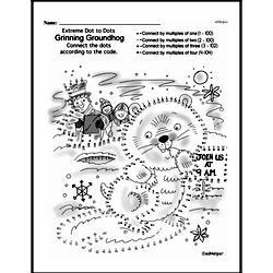 Free Third Grade Math Challenges PDF Worksheets Worksheet #189
