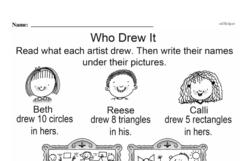 Free Third Grade Math Challenges PDF Worksheets Worksheet #45