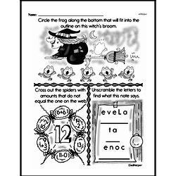 Free Third Grade Math Challenges PDF Worksheets Worksheet #100
