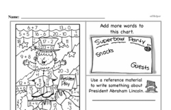 Third Grade Math Challenges Worksheets - Puzzles and Brain Teasers Worksheet #21