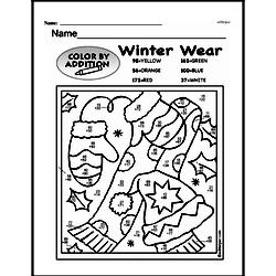 Free Third Grade Math Challenges PDF Worksheets Worksheet #181