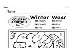 Free Third Grade Math Challenges PDF Worksheets Worksheet #185