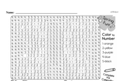 Free Third Grade Math Challenges PDF Worksheets Worksheet #177