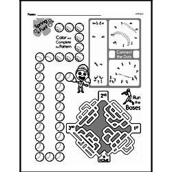 Free Third Grade Math Challenges PDF Worksheets Worksheet #129