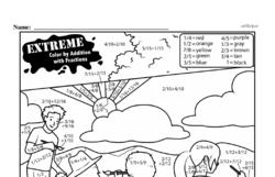 Free Third Grade Math Challenges PDF Worksheets Worksheet #55