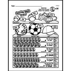 Third Grade Math Challenges Worksheets - Puzzles and Brain Teasers Worksheet #38