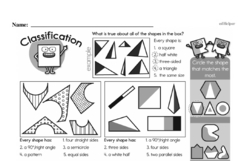 Free Third Grade Math Challenges PDF Worksheets Worksheet #32