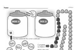 Free Third Grade Math Challenges PDF Worksheets Worksheet #82