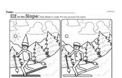 Free Third Grade Math Challenges PDF Worksheets Worksheet #115
