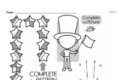 Free Third Grade Math Challenges PDF Worksheets Worksheet #153