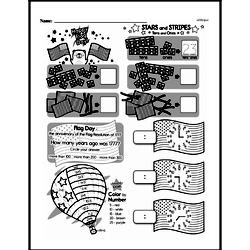 Third Grade Math Challenges Worksheets - Puzzles and Brain Teasers Worksheet #47
