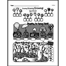 Free Third Grade Math Challenges PDF Worksheets Worksheet #84