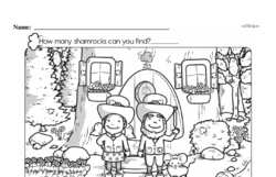 Free Third Grade Math Challenges PDF Worksheets Worksheet #94