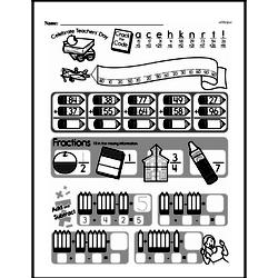 Third Grade Math Challenges Worksheets - Puzzles and Brain Teasers Worksheet #36
