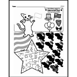 Third Grade Math Challenges Worksheets - Puzzles and Brain Teasers Worksheet #156