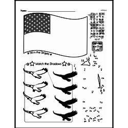 Free Third Grade Math Challenges PDF Worksheets Worksheet #154