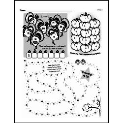 Third Grade Math Challenges Worksheets - Puzzles and Brain Teasers Worksheet #78