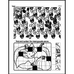 Third Grade Math Challenges Worksheets - Puzzles and Brain Teasers Worksheet #104