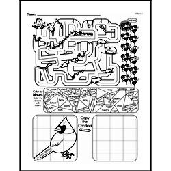 Free Third Grade Math Challenges PDF Worksheets Worksheet #143