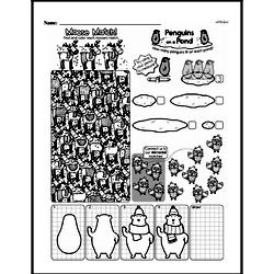 Third Grade Math Challenges Worksheets - Puzzles and Brain Teasers Worksheet #179