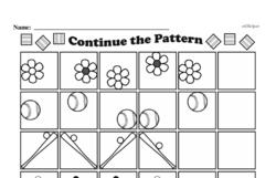 Free Third Grade Math Challenges PDF Worksheets Worksheet #46