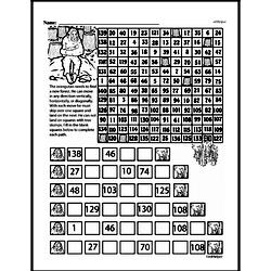 Third Grade Math Challenges Worksheets - Puzzles and Brain Teasers Worksheet #98