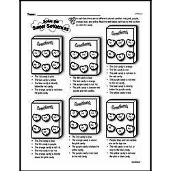 Free Third Grade Math Challenges PDF Worksheets Worksheet #151
