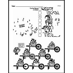 Third Grade Math Challenges Worksheets - Puzzles and Brain Teasers Worksheet #167