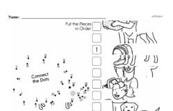 Free Third Grade Math Challenges PDF Worksheets Worksheet #167