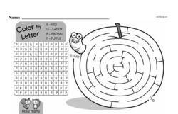 Free Third Grade Math Challenges PDF Worksheets Worksheet #99