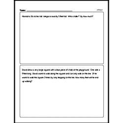 Measurement - Measurement Word Problems Workbook (all teacher worksheets - large PDF)
