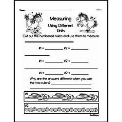 Third Grade Measurement Worksheets Worksheet #3