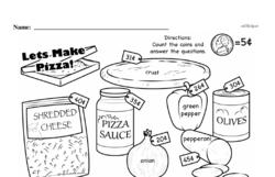 Free Third Grade Money Math PDF Worksheets Worksheet #7