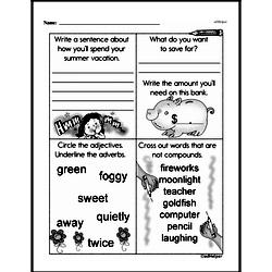 Free Third Grade Money Math PDF Worksheets Worksheet #9