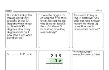 Money Math - Quarters Workbook (all teacher worksheets - large PDF)