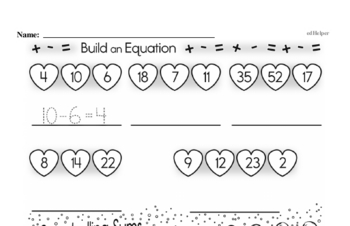 Money Math Mixed Math PDF Workbook for Third Graders
