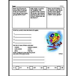 Free Third Grade Money Math PDF Worksheets Worksheet #11
