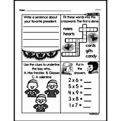 Free Third Grade Multiplication PDF Worksheets Worksheet #34