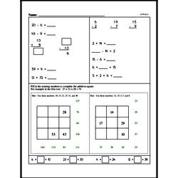 Free Third Grade Multiplication PDF Worksheets Worksheet #2
