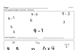 Free 3.OA.B.5 Common Core PDF Math Worksheets Worksheet #9