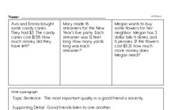 Free 3.OA.B.5 Common Core PDF Math Worksheets Worksheet #12