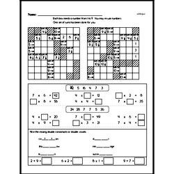 Multiplication Worksheets - Free Printable Math PDFs Worksheet #152