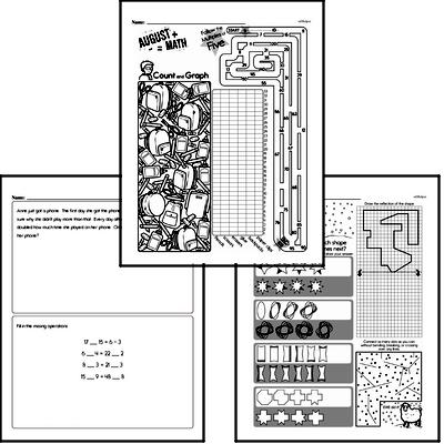Number Sense - Analyze Arithmetic Patterns Workbook (all teacher worksheets - large PDF)