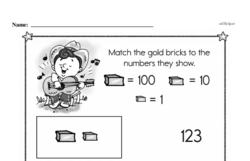 Free Third Grade Number Sense PDF Worksheets Worksheet #2
