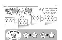 Free Third Grade Number Sense PDF Worksheets Worksheet #3