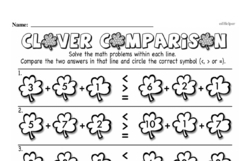 Free Third Grade Number Sense PDF Worksheets Worksheet #14