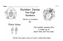 Third Grade Number Sense Worksheets Worksheet #6